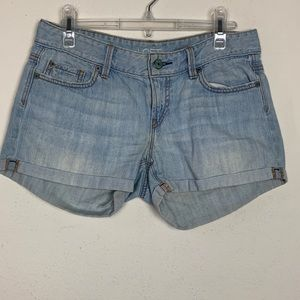 Loft- Light Denim Shorts size 4